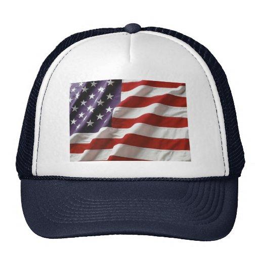Gorra del camionero de la bandera de los E.E.U.U.
