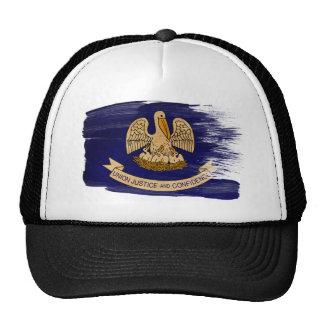 Gorra del camionero de la bandera de Luisiana