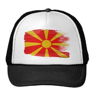 Gorra del camionero de la bandera de Macedonia
