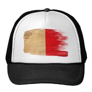 Gorra del camionero de la bandera de Malta