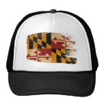 Gorra del camionero de la bandera de Maryland
