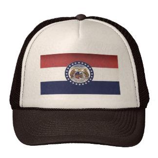 Gorra del camionero de la bandera de Missouri