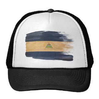 Gorra del camionero de la bandera de Nicaragua