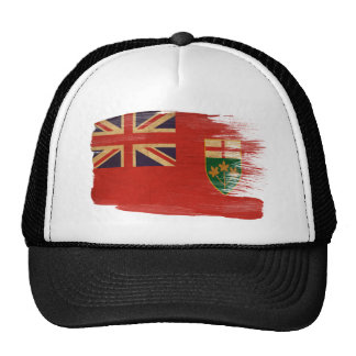 Gorra del camionero de la bandera de Ontario