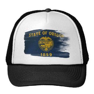 Gorra del camionero de la bandera de Oregon