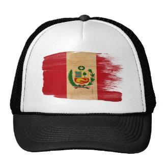 Gorra del camionero de la bandera de Perú