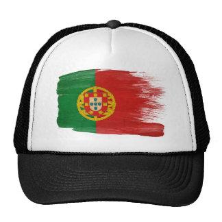 Gorra del camionero de la bandera de Portugal