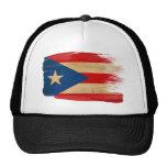 Gorra del camionero de la bandera de Puerto Rico