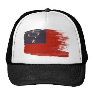 Gorra del camionero de la bandera de Samoa