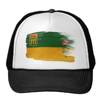 Gorra del camionero de la bandera de Saskatchewan