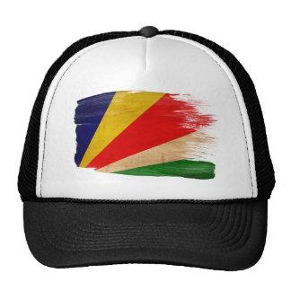 Gorra del camionero de la bandera de Seychelles
