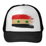 Gorra del camionero de la bandera de Siria