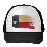 Gorra del camionero de la bandera de Tejas