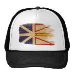Gorra del camionero de la bandera de Terranova