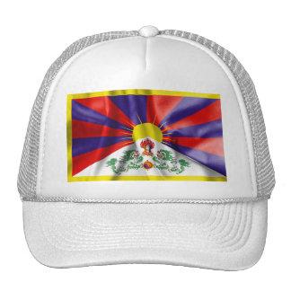 Gorra del camionero de la bandera de Tíbet