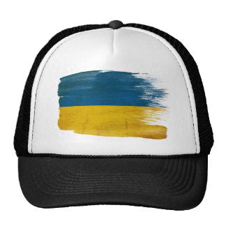 Gorra del camionero de la bandera de Ucrania