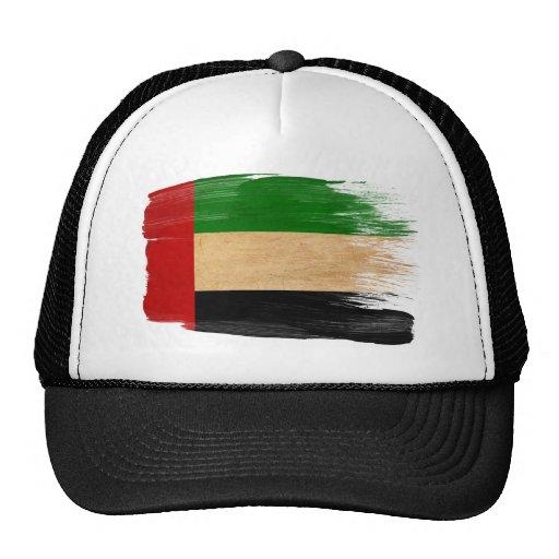 Gorra del camionero de la bandera de United Arab E
