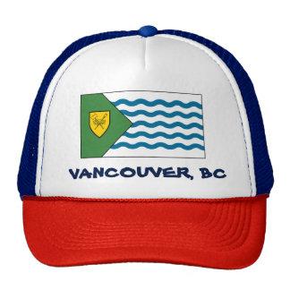Gorra del camionero de la bandera de Vancouver