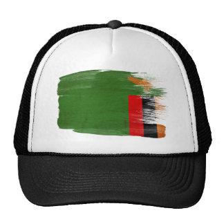 Gorra del camionero de la bandera de Zambia