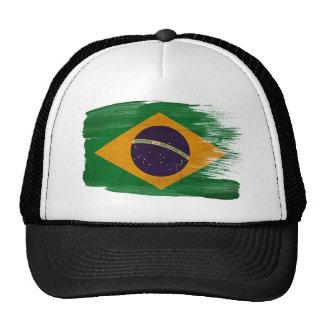 Gorra del camionero de la bandera del Brasil