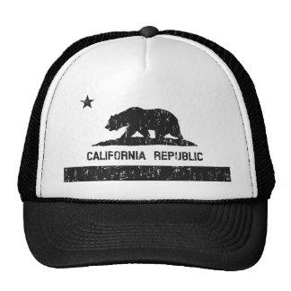 Gorra del camionero de la bandera del estado de la