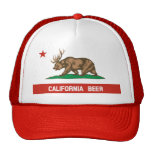Gorra del camionero de la bandera del estado de lo
