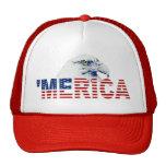 Gorra del camionero de la bandera del ` MERICA Eag