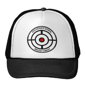 Gorra del camionero de la blanco móvil