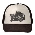 gorra del camionero de la cámara