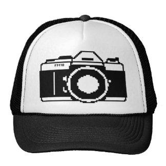Gorra del camionero de la cámara del arte del pixe
