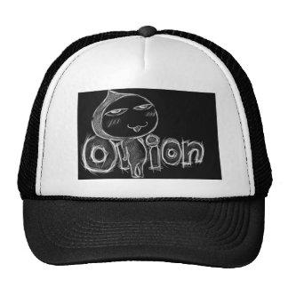 Gorra del camionero de la cebolla (negro)