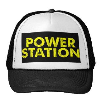 Gorra del camionero de la central eléctrica