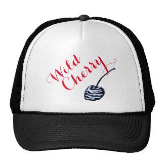 Gorra del camionero de la cereza salvaje