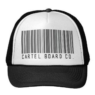 gorra del camionero de la clave de barras del cárt