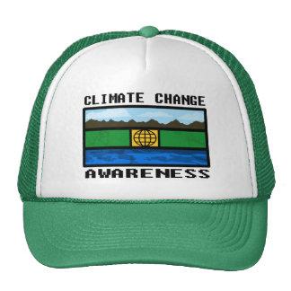 Gorra del camionero de la conciencia del cambio de