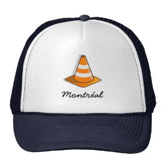 Gorra del camionero de la construcción de Montreal