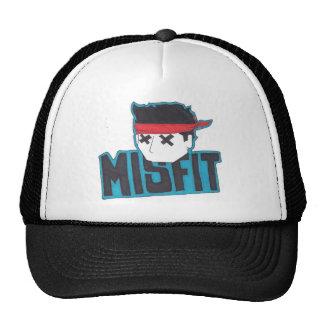 Gorra del camionero de la cosa mal encajada