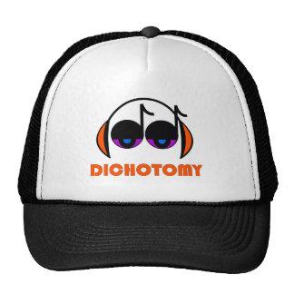 Gorra del camionero de la dicotomía