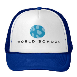 Gorra del camionero de la escuela del mundo