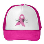 Gorra del camionero de la ESPERANZA del cáncer de