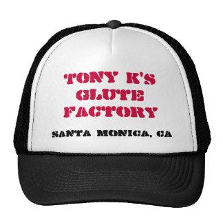 Gorra del camionero de la fábrica de Glute