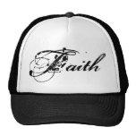 Gorra del camionero de la fe