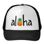Gorra del camionero de la hawaiana