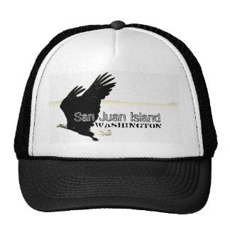 Gorra del camionero de la isla de Eagle calvo San