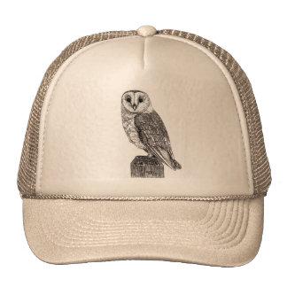 Gorra del camionero de la lechuza común 2