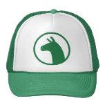 Gorra del camionero de la LLAMA - verde