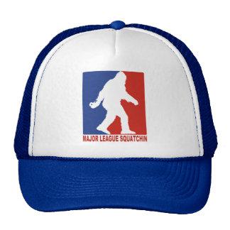 Gorra del camionero de la malla de Squatchin Sasqu
