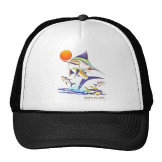 Gorra del camionero de la malla del pez volador de