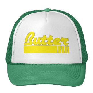 Gorra del camionero de la mantequilla