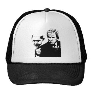 gorra del camionero de la máscara de obama del arb